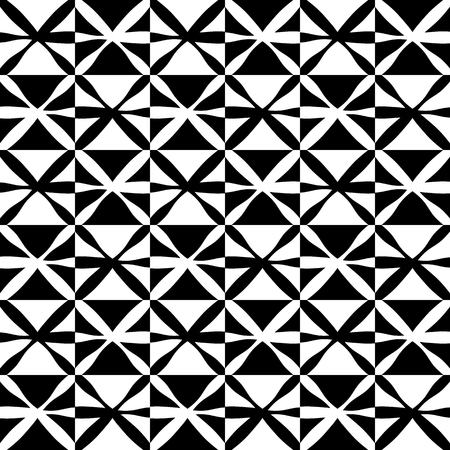 astract: Pattern with X shapes for your design. Abstract monochrome vector background