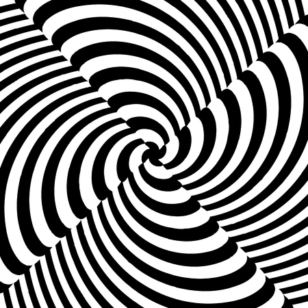 twirling: Monochrome vector art: Abstract spirally, swirly, twirling background.
