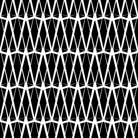 Geometric repeatable pattern. Abstract monochrome background. Vector