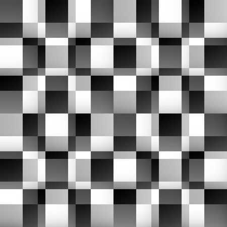 fade: Abstract mosaic pattern with fade effect. Seamlessly repeatable. Minimal monochrome texture. Illustration