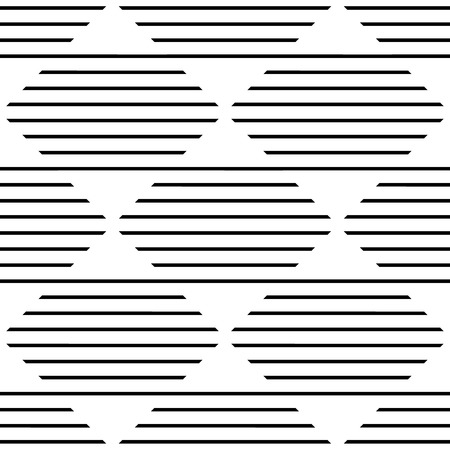 straight lines: Repeatable monochrome pattern w horizontal, straight lines mapped in squares.