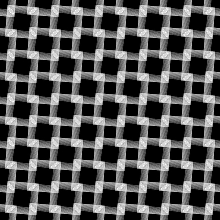 grillage: Abstract grid, mesh background. Monochrome reticulate geometric, grillage pattern. Seamlessly repeatable.