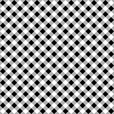 blocky: Seamless monochrome pattern, background with square shapes. Illustration