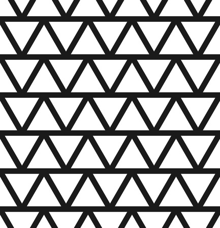 repeatable: Simple seamlessly repeatable pattern with alternating triangles.