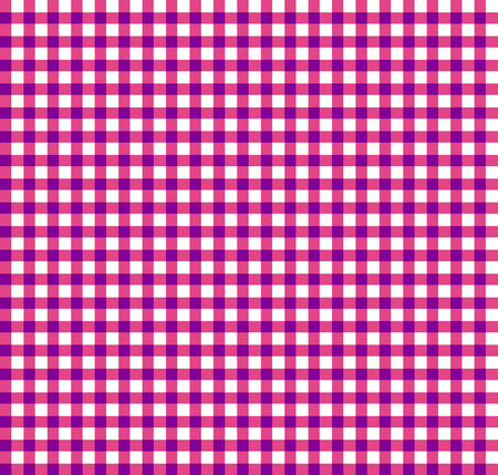 blocky: Colored plaid, tartan pattern with simple geometry. Vector.