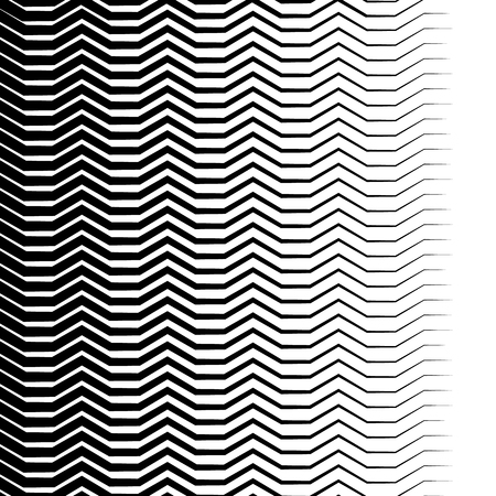elongated: Wavy, zigzag lines pattern. Abstract monochrome background for your design.