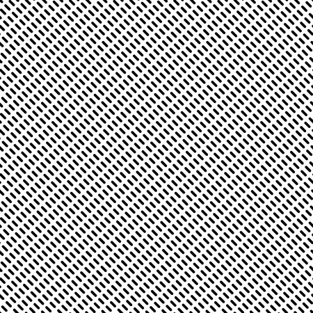 dashed: Dashed lines repeatable pattern. Abstract monochrome background. Vector.
