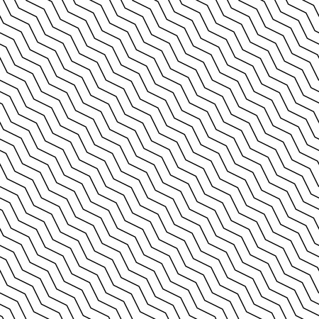 slant: Abstract geometric pattern with diagonal zigzag lines. Can be repeated. Illustration