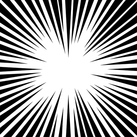 radiating: Abstract rays, beams background. Pointed radiating lines.