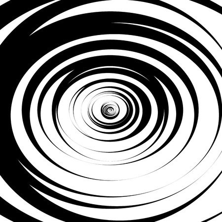 scattered: Scattered, random circles. Abstract monochrome vector illustration.