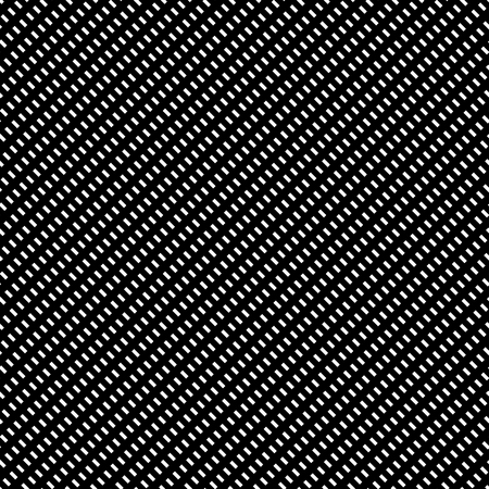 abstractionism: Dashed lines repeatable pattern. Abstract monochrome background. Vector.