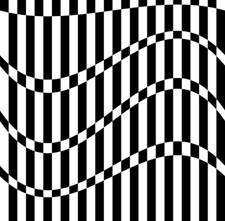 alternating: Abstract pattern alternating, checkered squares, rectangles. Monochrome vector art.
