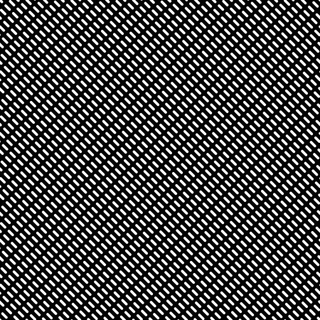 slant: Dashed lines repeatable pattern. Abstract monochrome background. Vector.