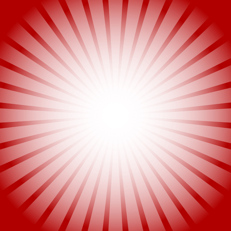 Abstract starburst, sunburst background. Radiating, converging lines, rays. Vector.