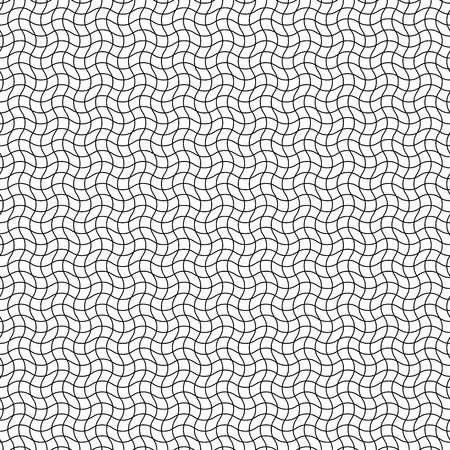 zig: Wavy, zig zag intersecting lines background. Seamlessly repeatable.
