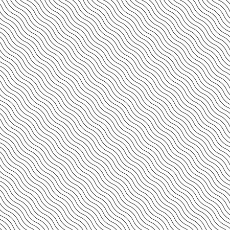 billow: Abstract seamless background with wavy, waving lines. Can be repeated.