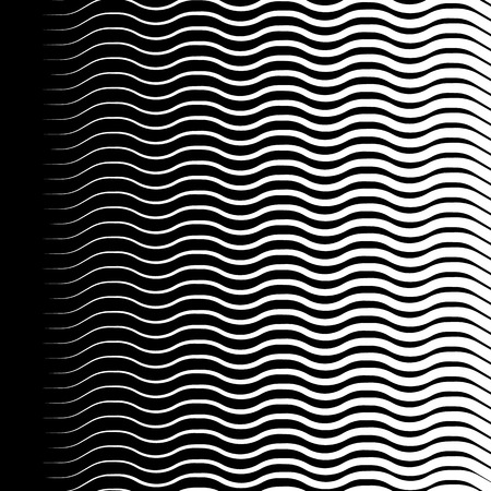 crisscross: Wavy, zigzag lines pattern. Abstract monochrome background for your design.