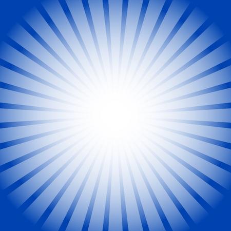 starburst: Abstract starburst, sunburst background. Radiating, converging lines, rays. Vector.
