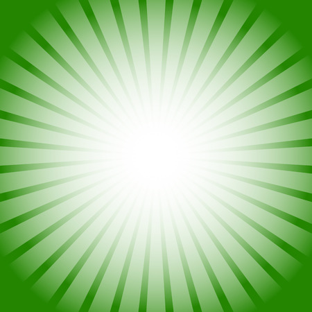 energy center: Abstract starburst, sunburst background. Radiating, converging lines, rays. Vector.