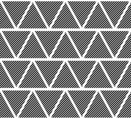 slanting: Slanting lines clipped in triangles. Seamlessly repeatable pattern.
