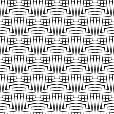 grillage: Abstract grid, mesh pattern with thin lines. Can be repeated. Illustration