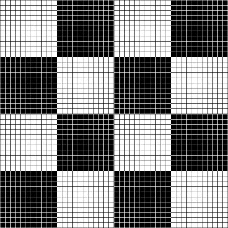 grillage: Seamlessly repeatable abstract grid, mesh monochrome pattern