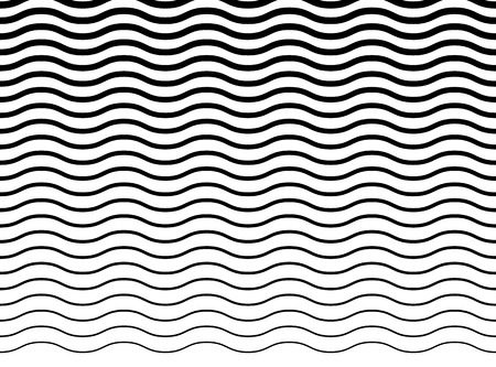billow: Wavy (zigzag) lines pattern. Horizontally seamlessly repeatable.