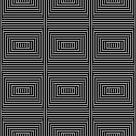 Abstract monochrome lines pattern with great contrast. Seamlessly repeatable.