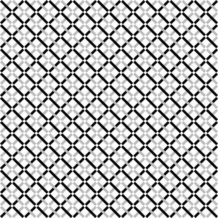 repeatable texture: Repeatable pattern with dashed lines texture. Minimal grayscale  monochrome background.