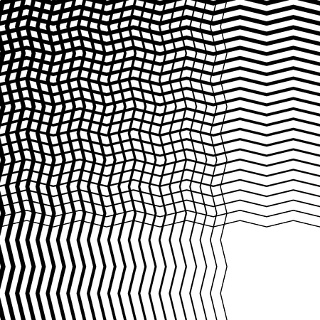 intersecting: Intersecting wavy lines pattern  texture. Editable vector art.