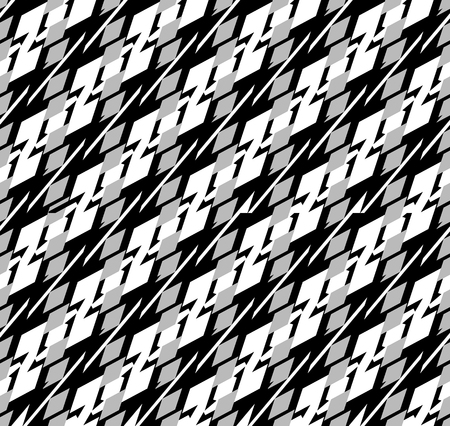 repeatable texture: Abstract seamless geometric background  pattern. Monochrome repeatable vector texture.