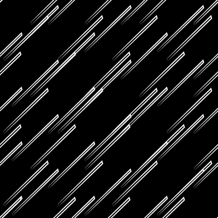 repeatable texture: Abstract seamless background  pattern with diagonal, oblique lines, stripes. Monochrome repeatable vector texture.