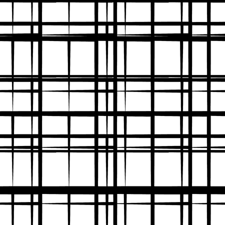 grating: Abstract seamless geometric background  pattern. Monochrome repeatable vector texture.