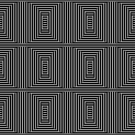 eyestrain: Abstract monochrome lines pattern with great contrast. Seamlessly repeatable.