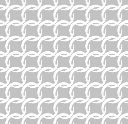 grayscale: Seamless grayscale pattern with interlcoking circles, rings