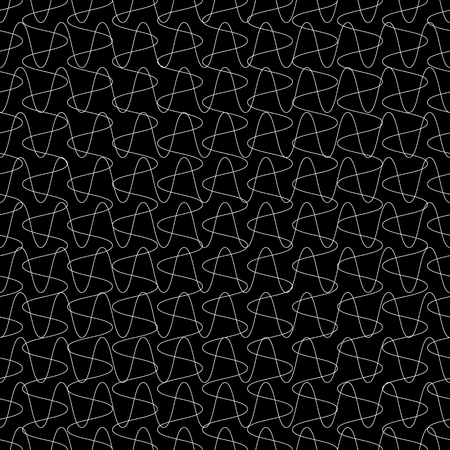 intersecting: Intersecting lines grid, mesh repeatable pattern. Vector.
