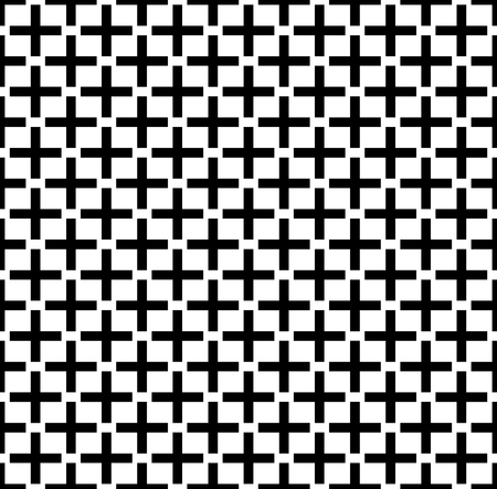 crisscross: Seamlessly repeatable abstract geometric pattern, background. Editable vector. Illustration