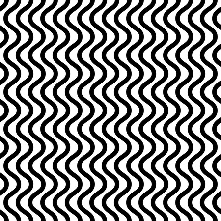 squiggly: Repeatable wavy, zigzag vertical lines in parallel fashion.