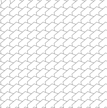 angular: Repeatable abstract pattern with geometric angular shapes Illustration
