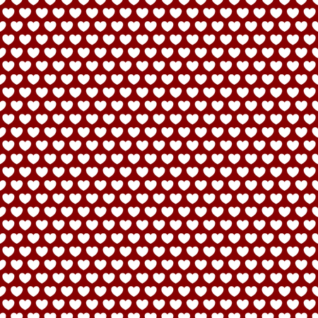 Seamlessly repeatable pattern, background with heart shapes