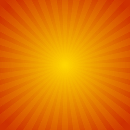 sunbeam: Colorful starburst, sunburst background. Radiating, converging lines. Glowing pattern, backdrop.