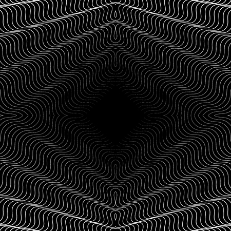 intersecting: Abstract grid, mesh geometric pattern with thin intersecting lines Illustration