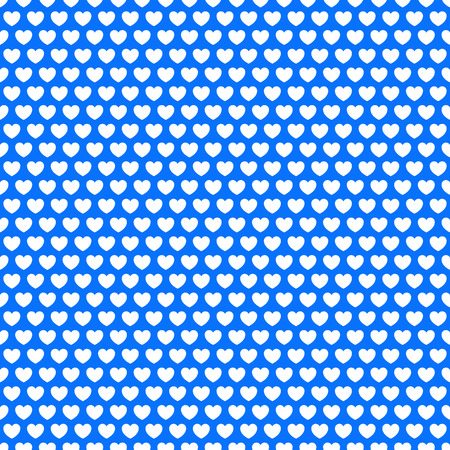 modish: Seamlessly repeatable pattern, background with heart shapes