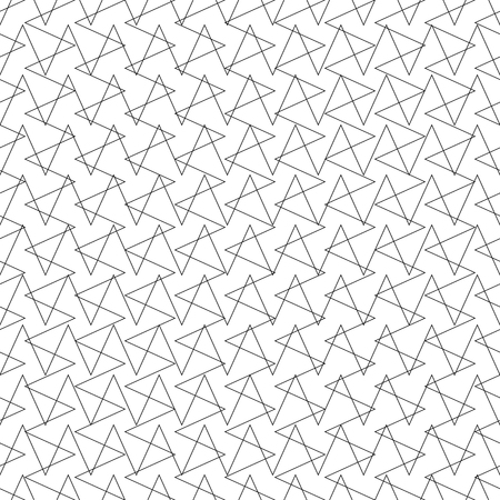 repeatable: Intersecting lines grid, mesh repeatable pattern. Vector.