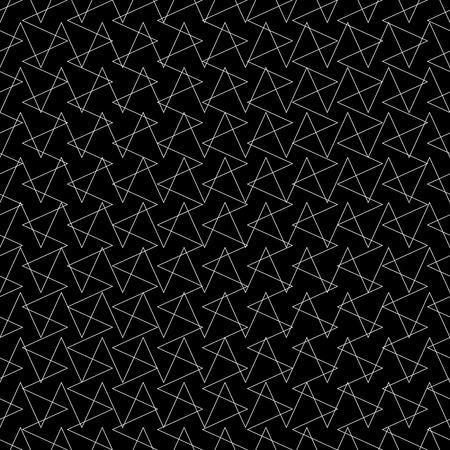 グリッド線と交差する、反復可能なパターンをメッシュします。ベクトル。