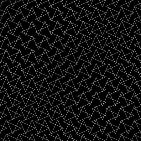 Intersecting lines grid, mesh repeatable pattern. Vector.