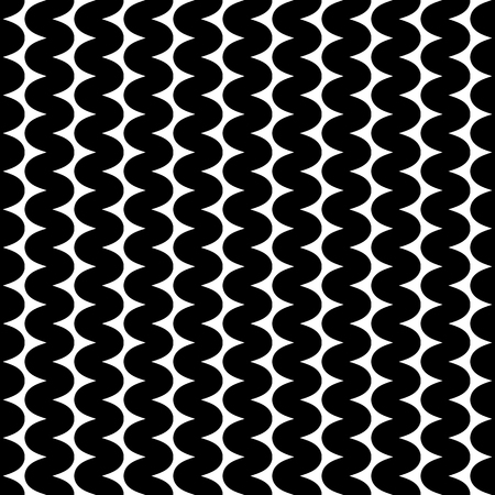 billow: Repeatable wavy, zigzag vertical lines in parallel fashion.