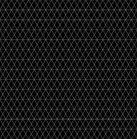 グリッド メッシュ抽象的なモノクロのシームレス パターン テクスチャ  イラスト・ベクター素材