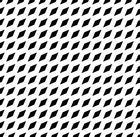 tilted: Simple seamless pattern with tilted rhombus shapes. Minimal monochrome repeatable pattern.