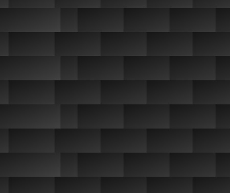facets: Repeatable black and white pattern with rectangle shapes. Lamella, facets repeatable background